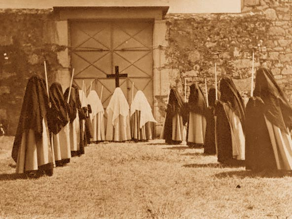 Procession of Carmelite Nuns